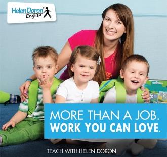 Postanite Helen Doron English učitelj – najboljši učitelji tujega jezika angleščine na svetu