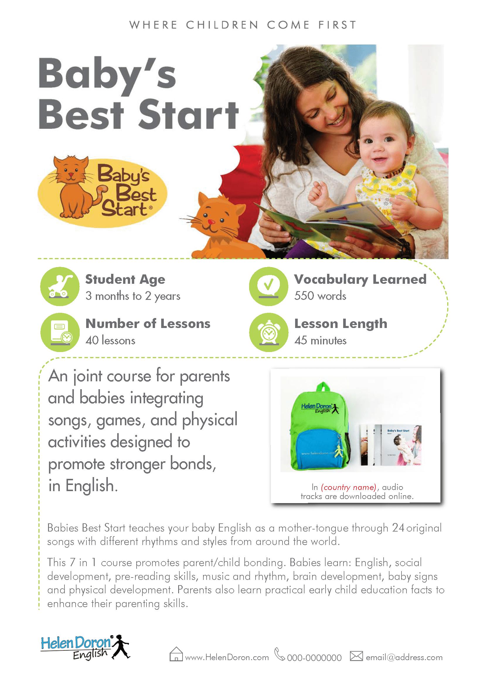 Prenesi - Baby's Best Start