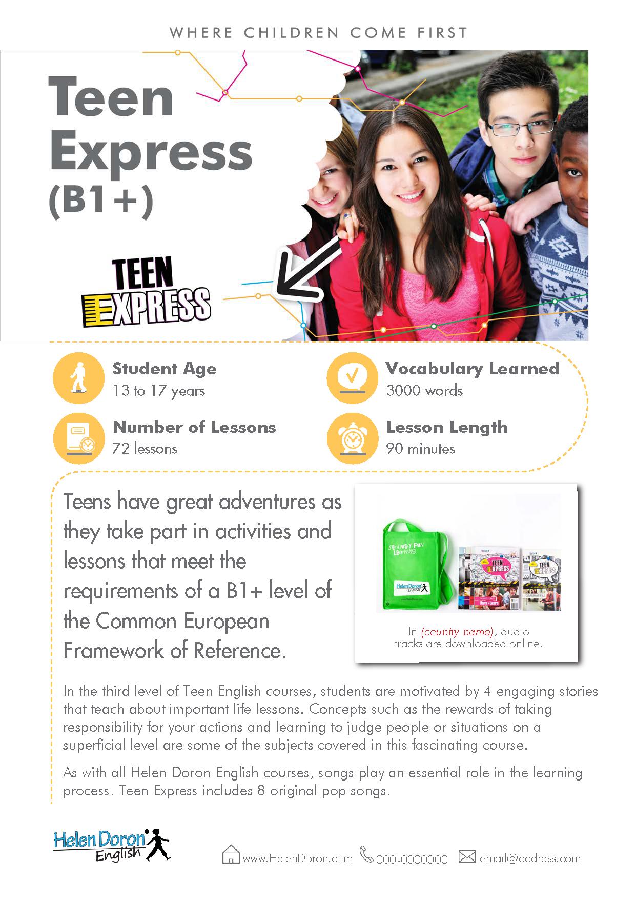 Prenesi - Teen Express (B1+)