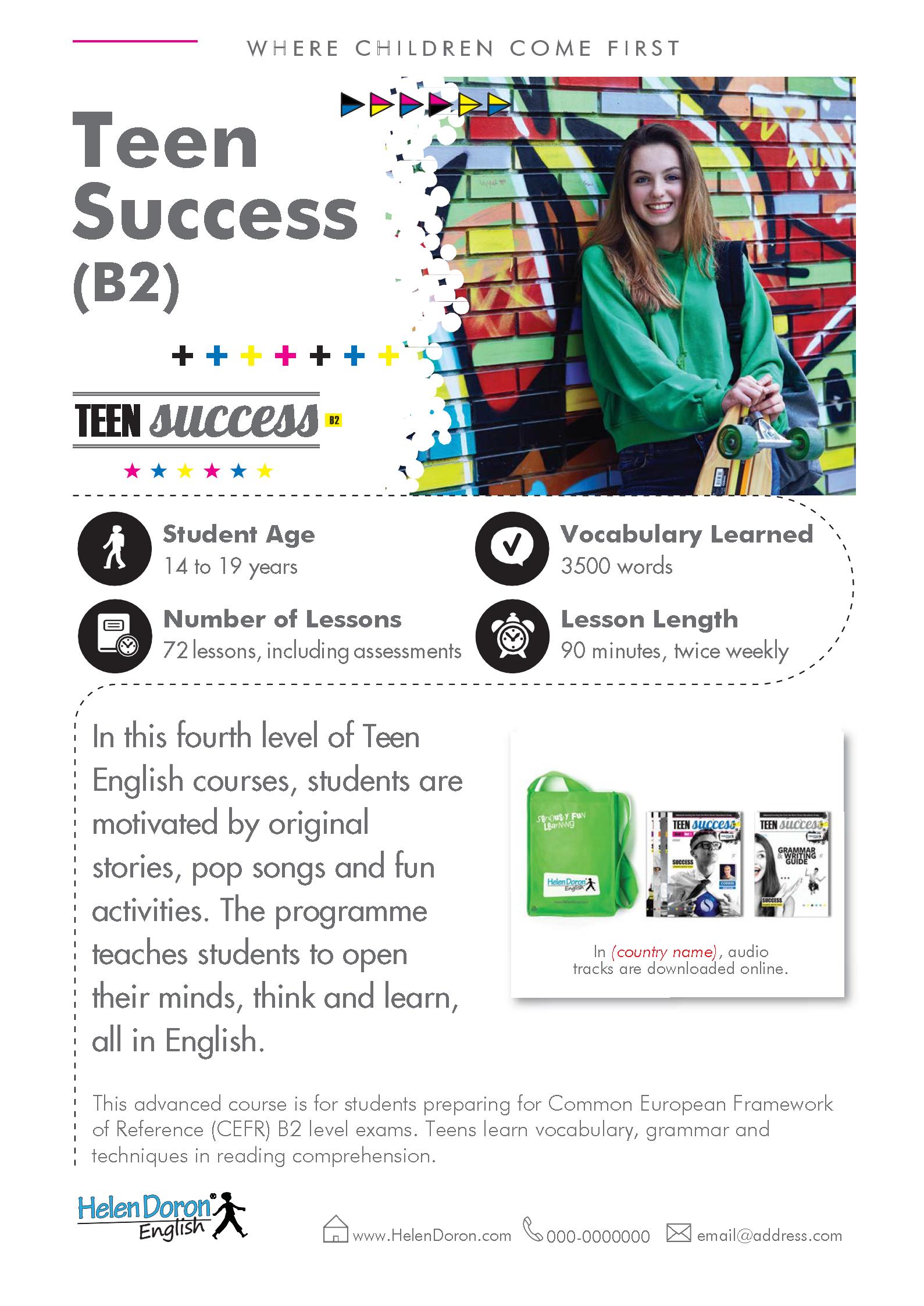 Prenesi - Teen Success (B2)