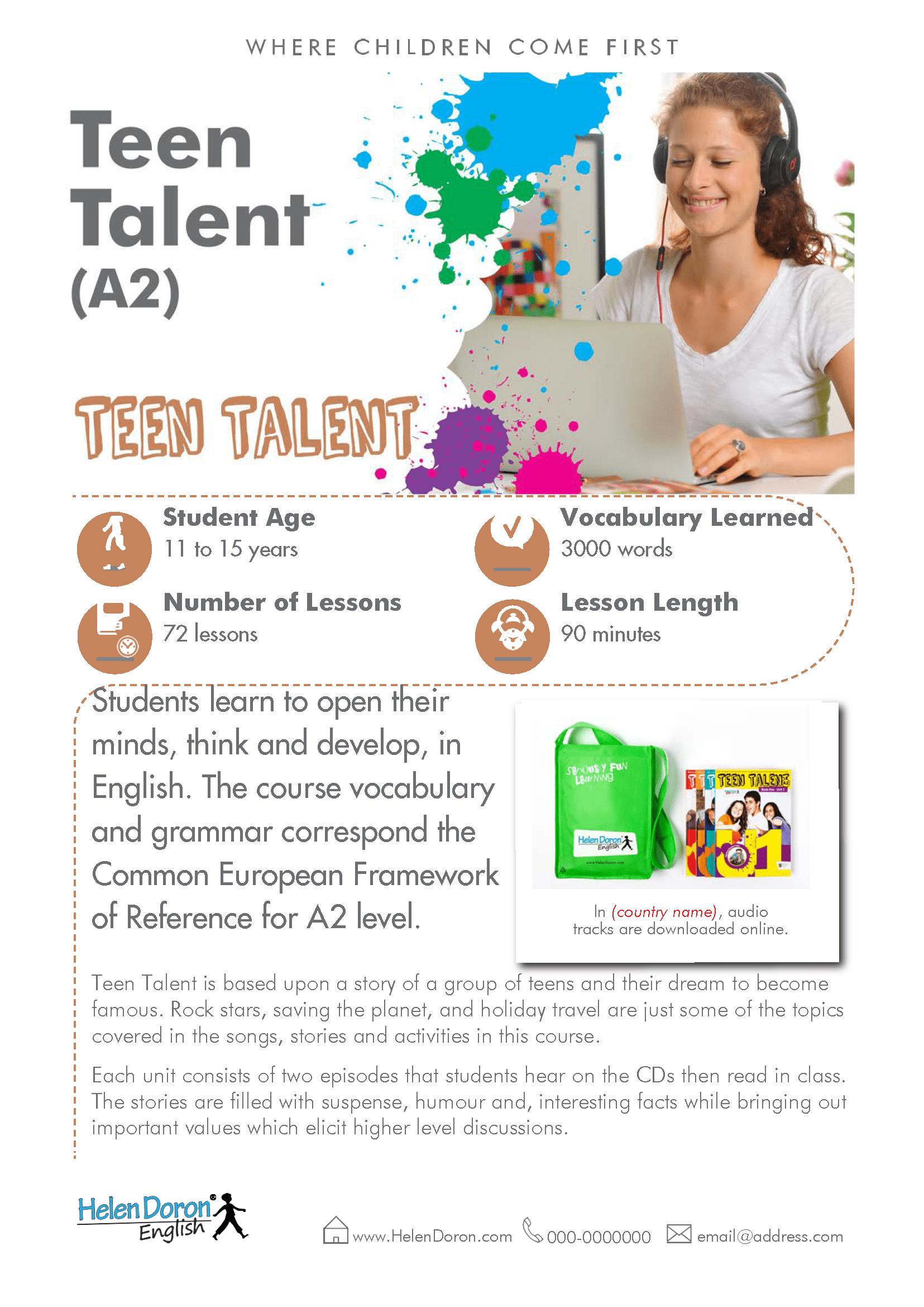 Prenesi - Teen Talent (A2)