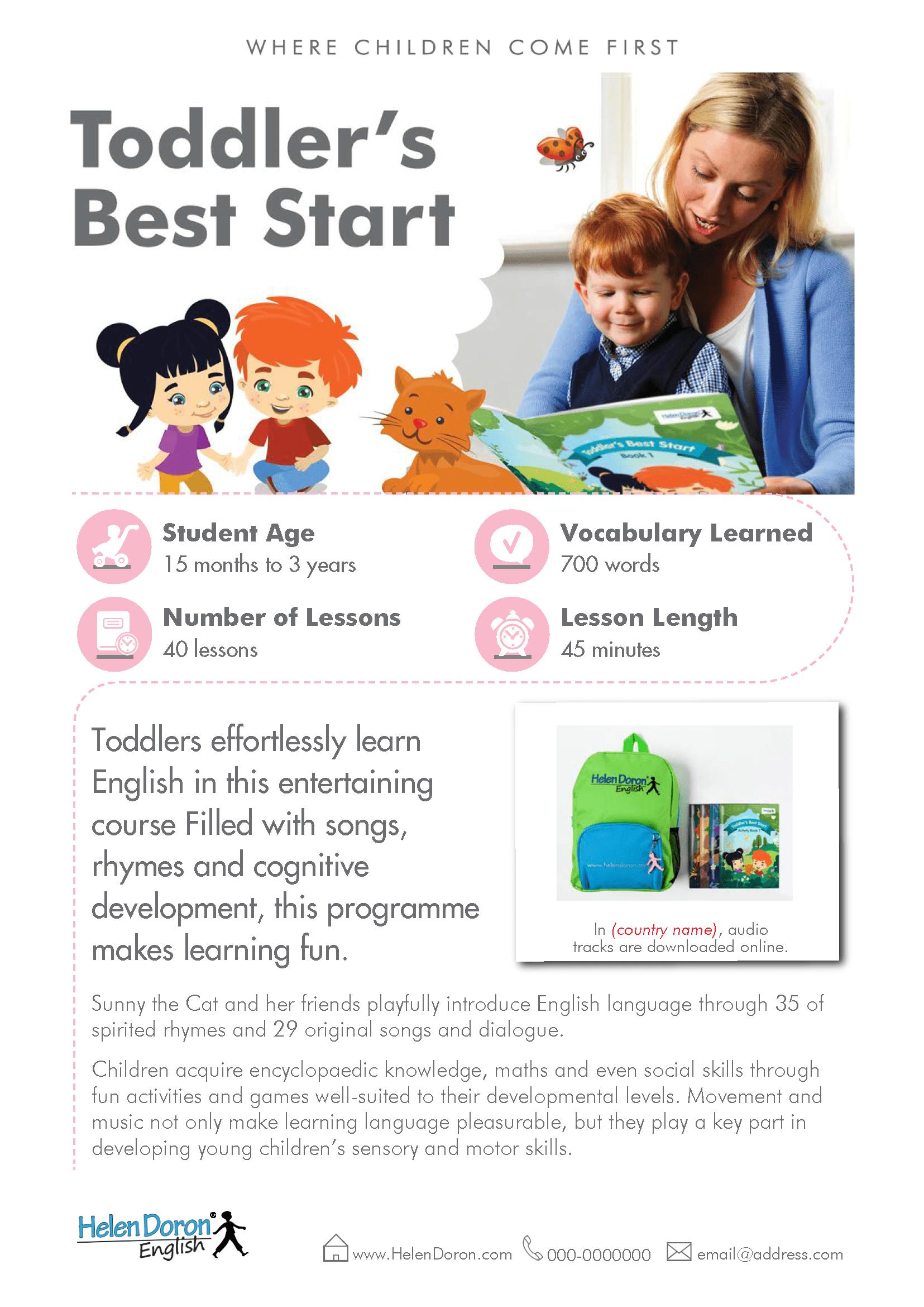 Prenesi - Toddler's Best Start