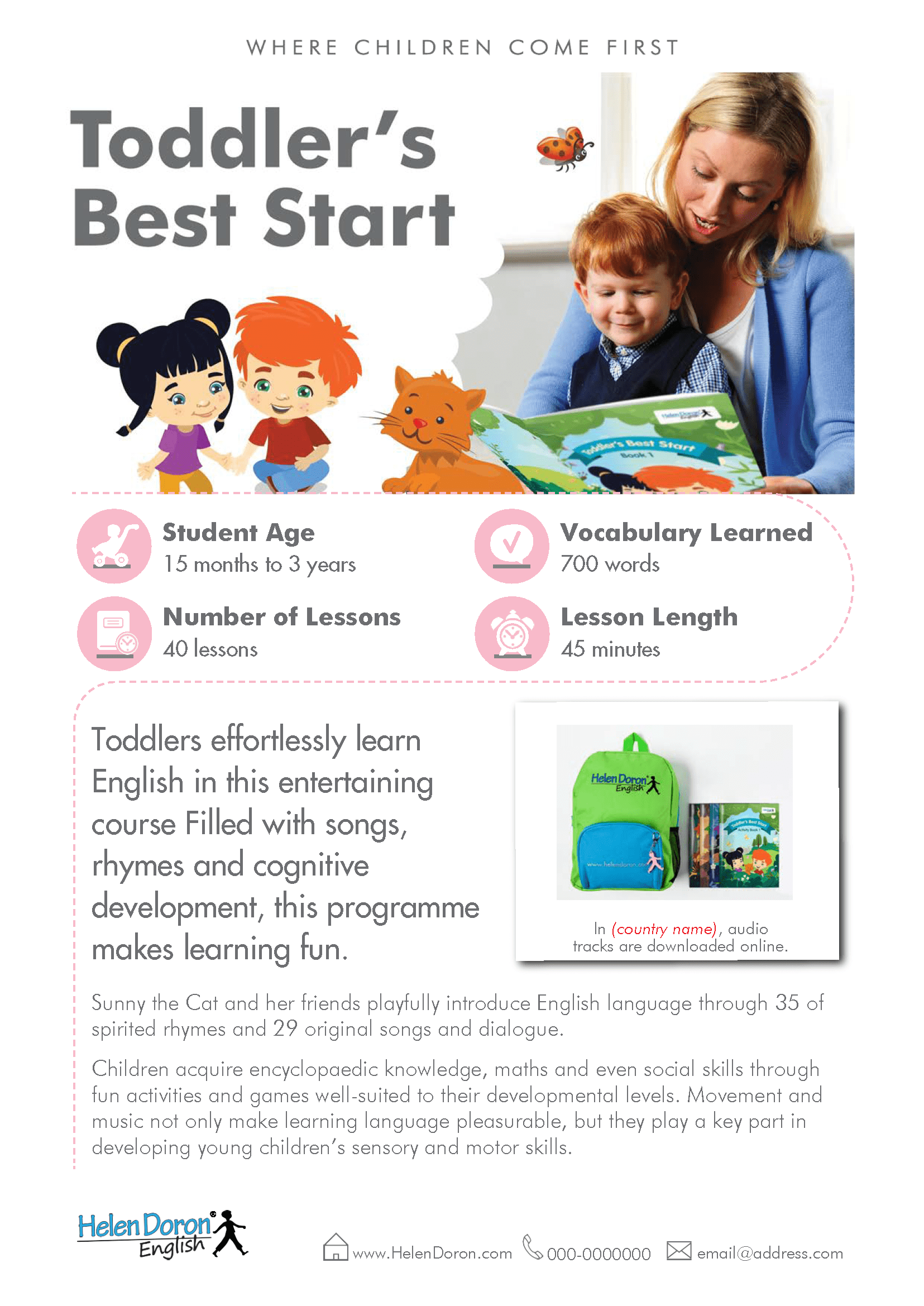 Prenesi - Toddler's Best Start